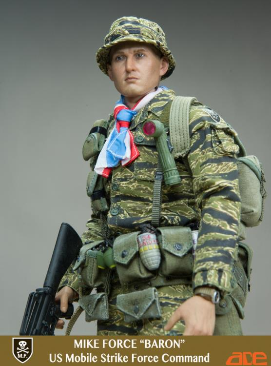 Ace Mike Force shirt 1//6 scale Baron toys bbi dragon Joe soldier Vietnam dam
