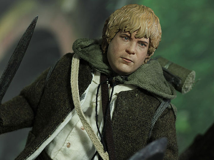 The Lord Of The Rings Samwise Gamgee Slim Ver 1 6 Scale Figure