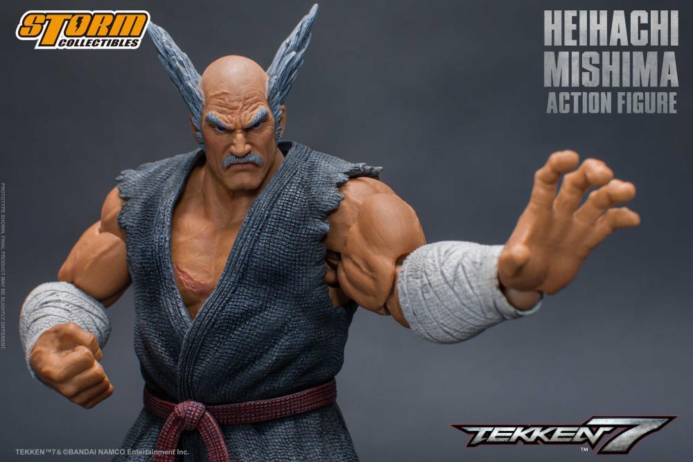 tekken 7 heihachi mishima 1 12 scale figure tekken 7 heihachi mishima 1 12 scale figure