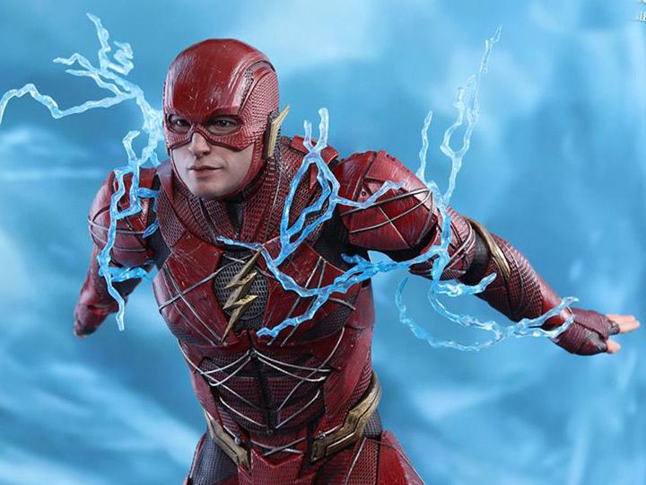 DC Hot Toys Justice League The Flash Ezra Miller Barry Allen 1//6 Figure In Stock