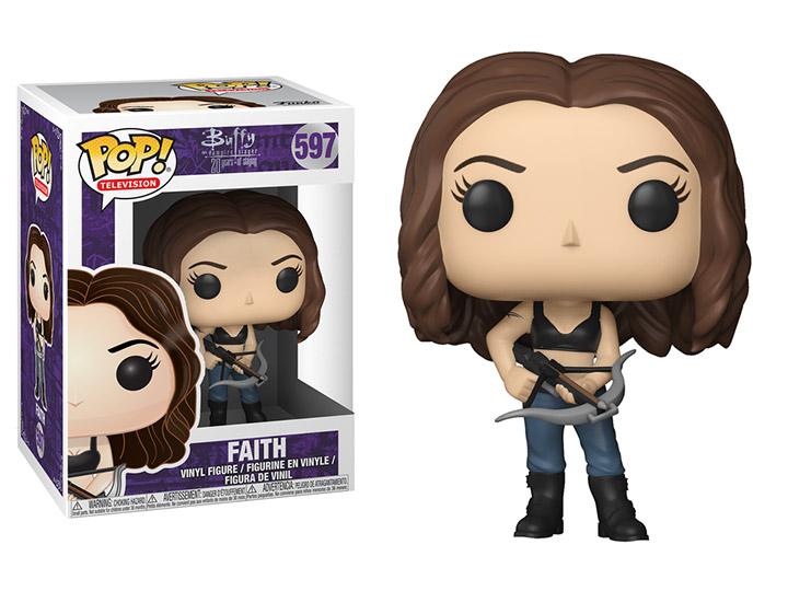 Vinyl Buffy The Vampire Slayer Faith Action Figure Pop