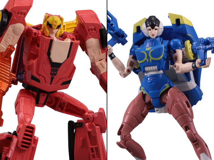 Street Fighter Ii X Transformers Ken Vs Chun Li Exclusive