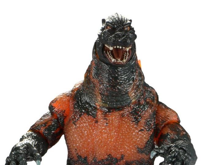 "NECA Burning Godzilla vs Destoroyah 1995 Movie 6/"" Action Figure 12/"" Head Tail"