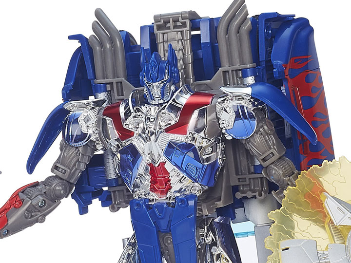 Age of Extinction First Edition Optimus Prime Figure Transformers