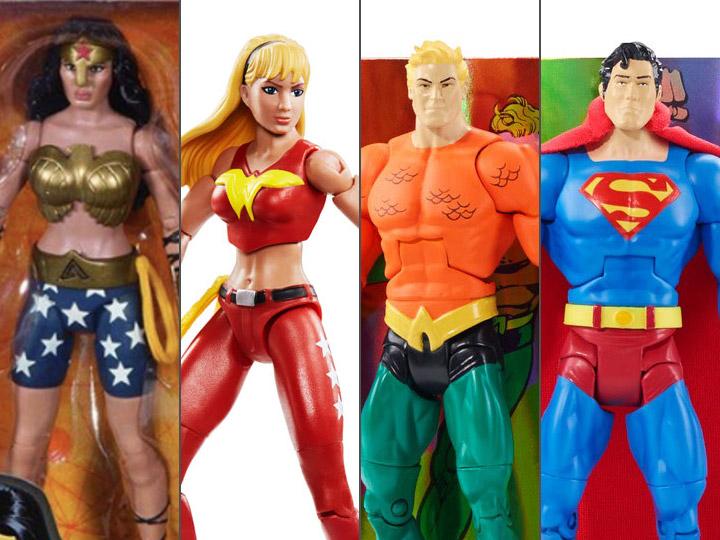 DC COMICS MULTIVERSE TEEN TITANS WONDER GIRL action figure