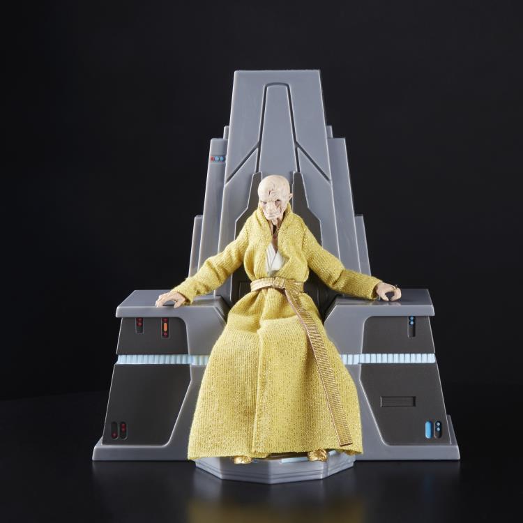 Starwars figurine throne 6inch