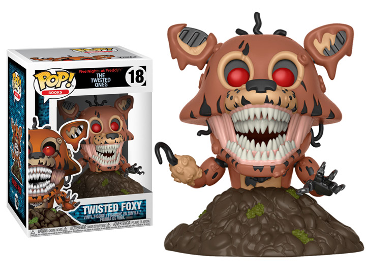 Twisted Ones Funko Vinyl Five Nights at Freddy/'s Twisted Wolf Pop