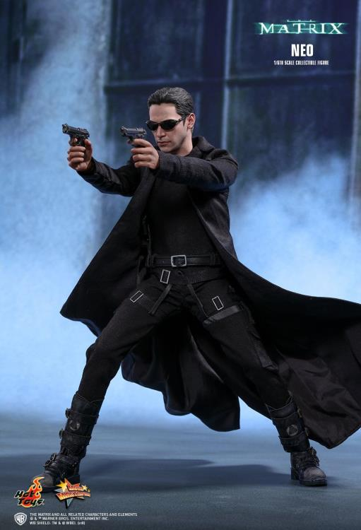 Hot Toys Neo The Matrix MMS466 Heckler /& Koch MP5K SMG loose 1//6th scale