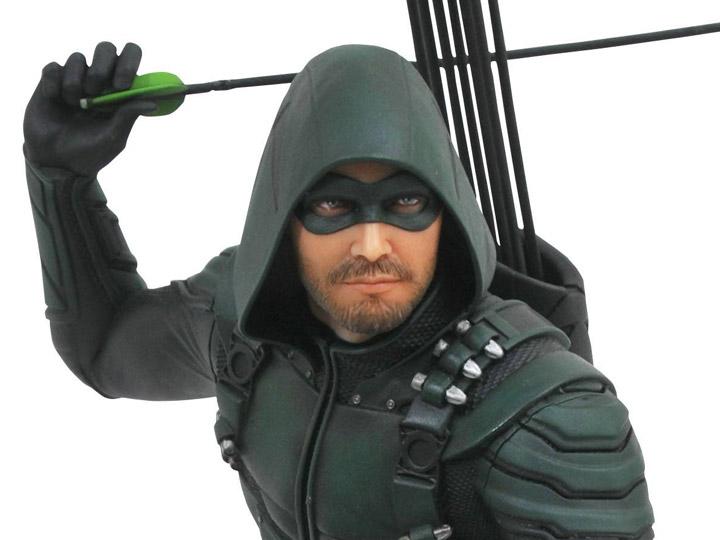 Green Arrow Pvc Figure Diamond DC Gallery Arrow TV DC COMICS