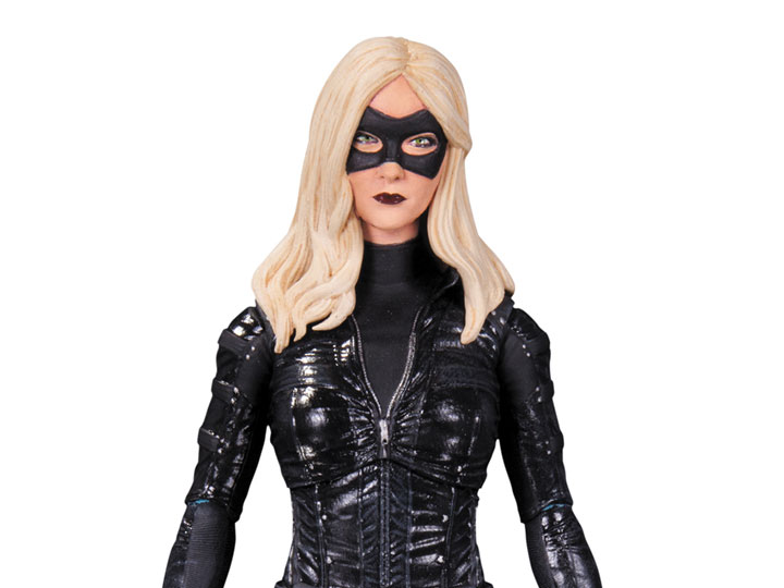 DC COLLECTIBLES ARROW TV SERIES CANARY ACTION FIGURE