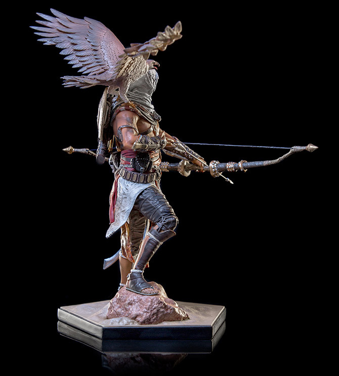 Assassin S Creed Origins Bayek 1 10 Art Scale Statue