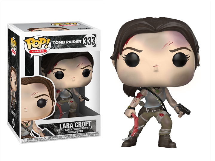 Pop Games Tomb Raider 2013 Lara Croft