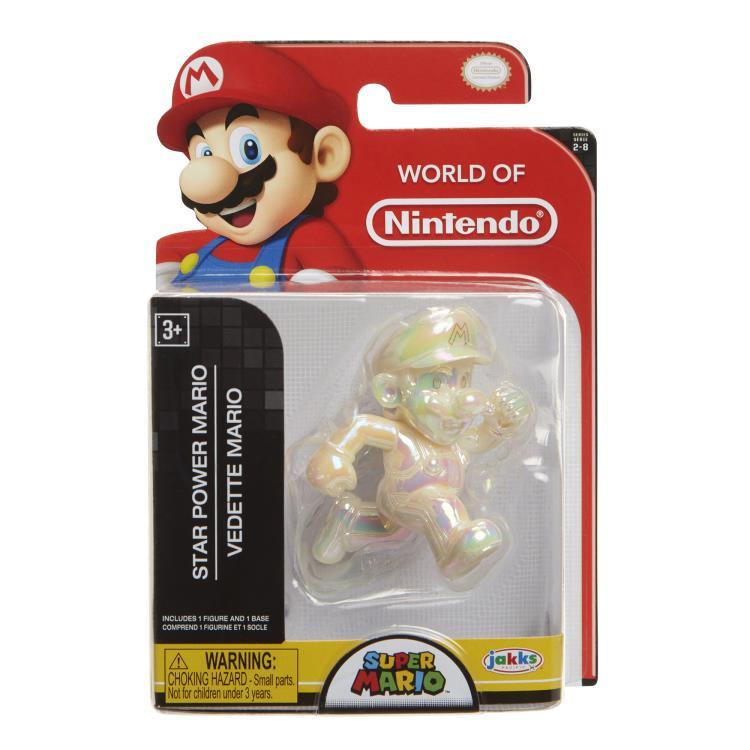 Jakks 6 cm Super Mario Figur Star Power Mario ca