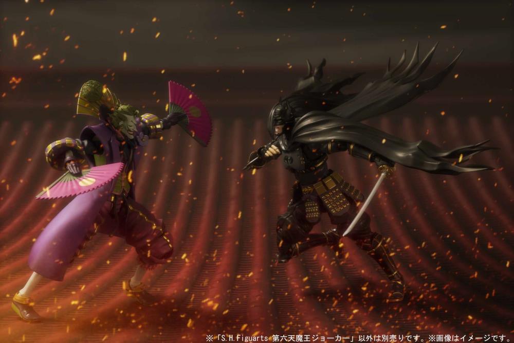 Batman Ninja Joker Figure S H Figuarts Demon King Joker