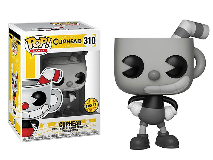 Funko Pop Games-Cuphead-Cuphead Vinyl Figure-Chase