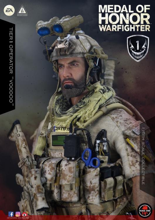 1//6 Scale MOH Warfighter Voodoo Lock Clips Soldier Story Figures
