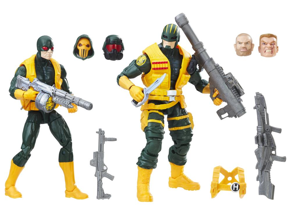 """New Marvel Legends Hydra Soldier 6/"""" Action Figure 2 Pack Exclusive"""