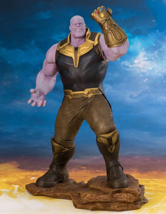 Statue Figure by Kotobukiya Marvel Comics Avengers Infinity War Thanos ArtFx