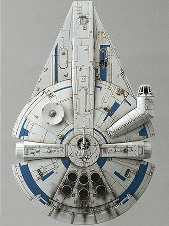 Solo: A Star Wars Story Millennium Falcon (Lando Calrissian Ver.) 1/144 Scale Model Kit