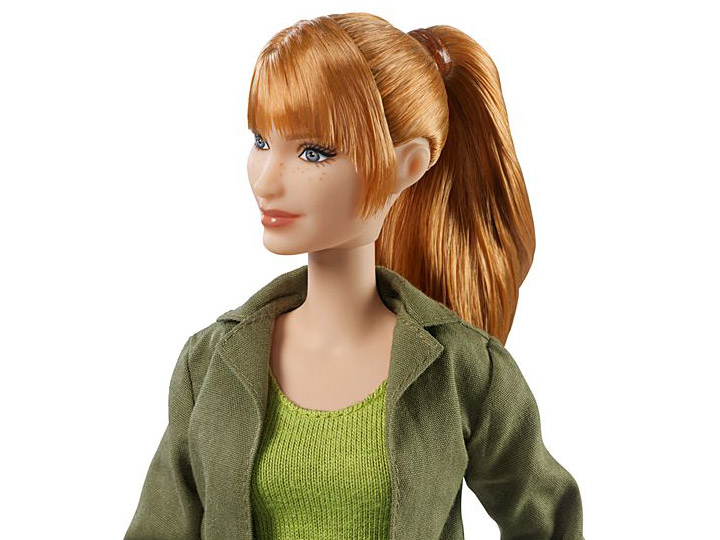 Jurassic World Claire Isla Barbie Doll Articulated Dolls of the World
