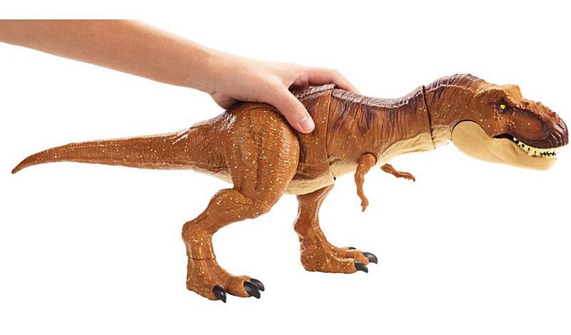 Jurassic World Park Fallen Kingdom Thrash /'N Throw Tyrannosaurus Rex Figure Toy