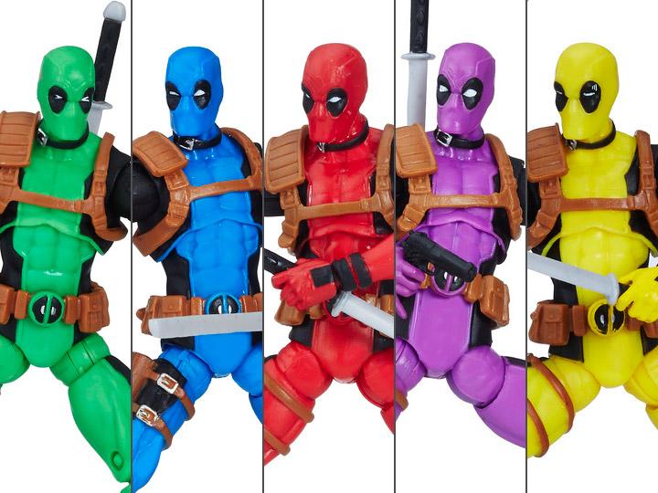 "Marvel Super Hero Squad DEADPOOL 2/"" Figure with Swords"