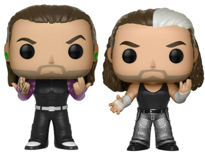 Pop WWE Series 8 The Hardy Boyz 2 Pack by Funko