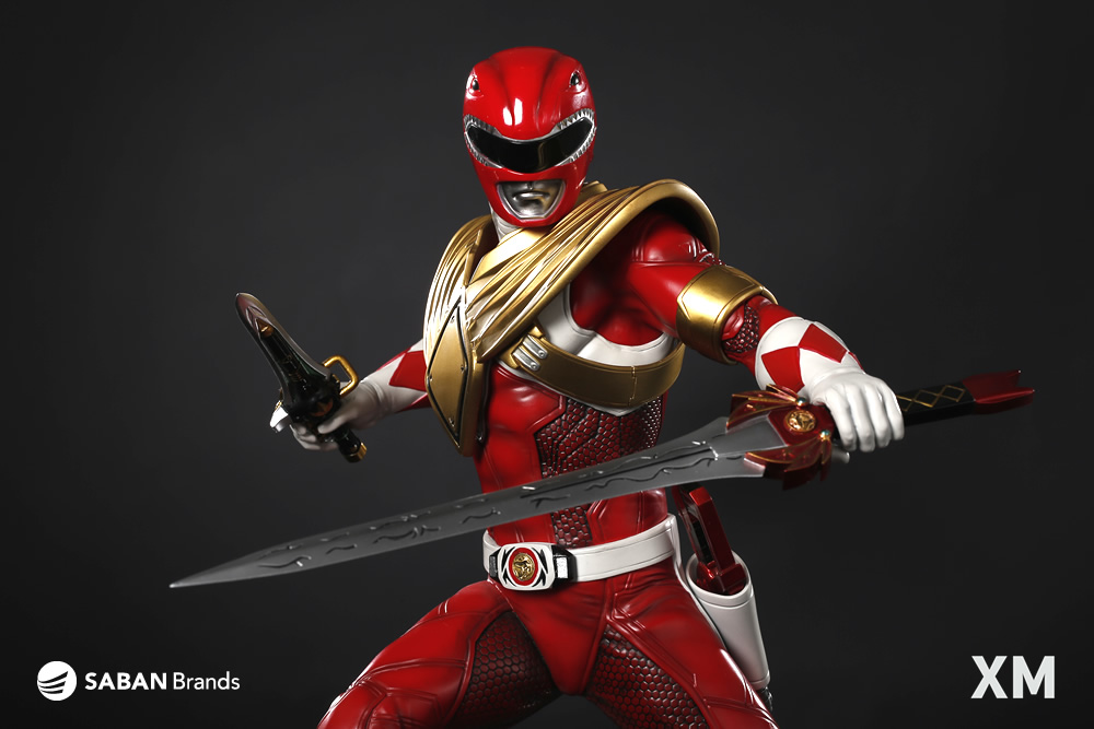 Mighty Morphin Power Rangers Premium Collectibles Red Ranger Statue Power rangers megaforce ultra dragon chest armor bandai 2013   working. mighty morphin power rangers premium