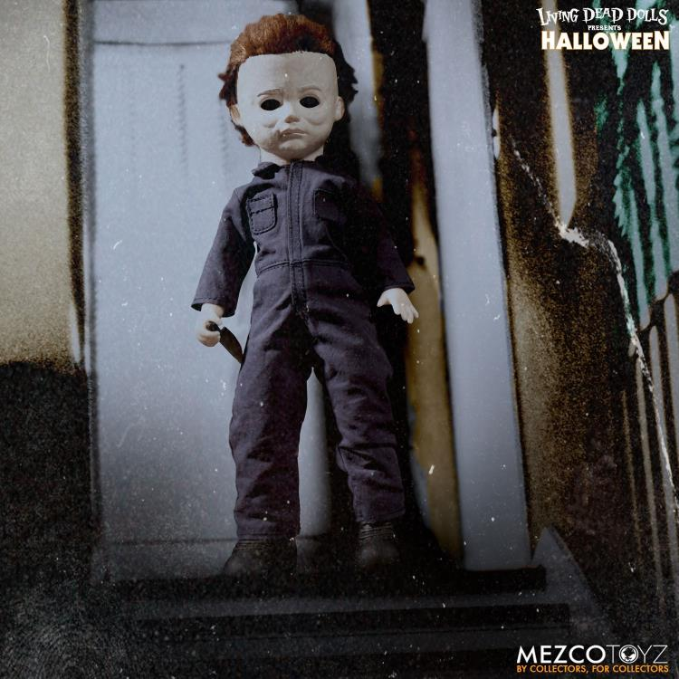 MEZCO TOYZ LIVING DEAD DOLLS HALLOWEEN MICHAEL MYERS HORROR COLLECTIBLE NEW.