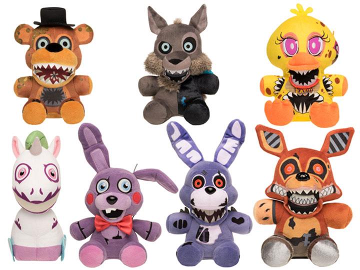Koala Stuffed Animals Mini, Five Nights At Freddy S The Twisted Ones Plushies Box Of 9