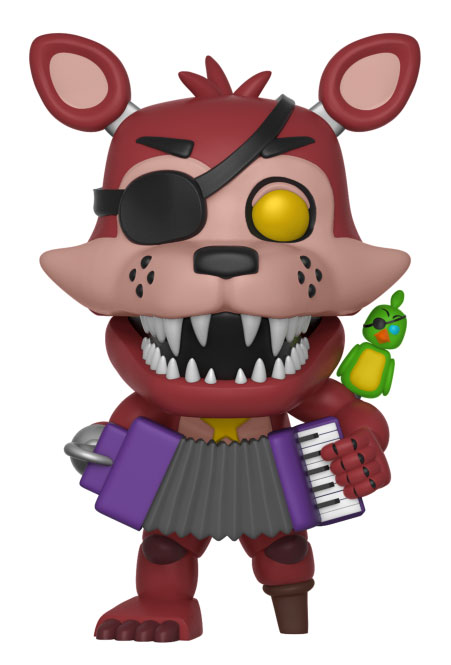 Five Nights At Freddy/'s Pizza Simulator Rock star Foxy #363 Funko POP