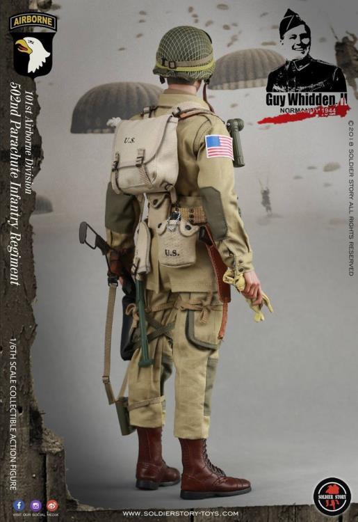 SOLDIER STORY Reserve Pack WWII 101 AIRBORNE GUY WHIDDEN 1//6 ACTION FIG TOYS did