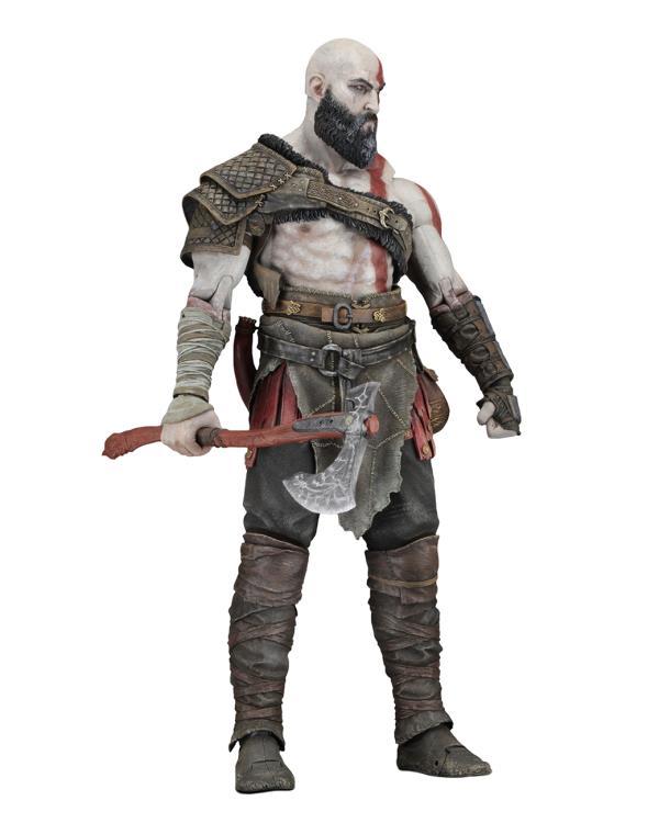 "God of War Kratos 4/"" Cute Action Figure Toy Set BULK"