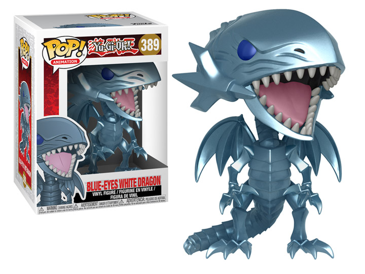 Animation Blue Eyes White Dragon 389 Funko Pop vinyl yu gi oh
