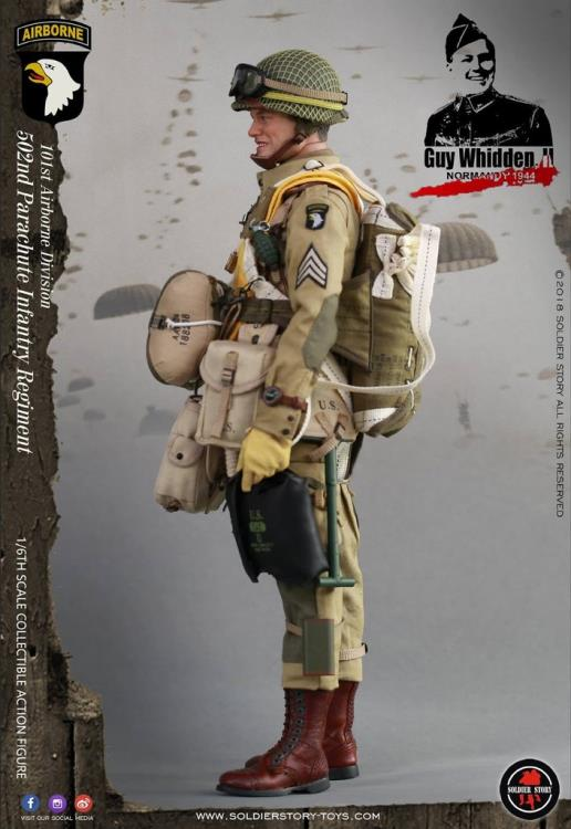 SoldierStory 1//6 WWII 101ST AIRBORNE DIVISION 502 Parachute Infantry WHIDDEN II