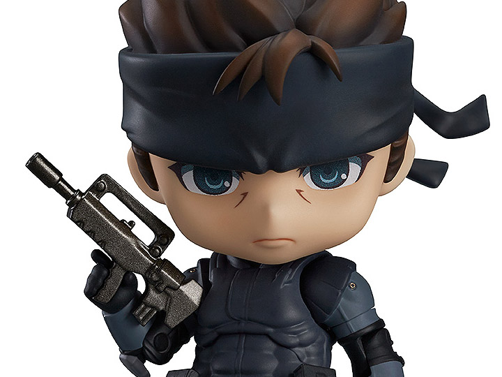 """In STOCK Metal Gear /""""Solid Snake/"""" Reissue 447 Nendoroid Action Figure"""