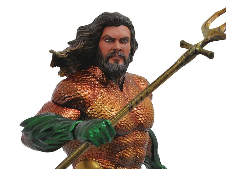 Statue Figurine Aquaman Film-Aquaman DC Gallery 9 in environ 22.86 cm