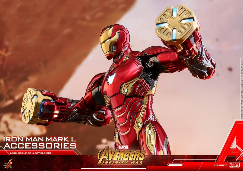 Hot Toys 1//6 ACS004 Avengers Infinity War Mark L Accessories Energy Blade