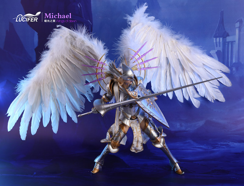 Seamless Body for LUCIFER Wings Of Dawn Michael Big Angel 1//6 Scale Figure 12/'/'