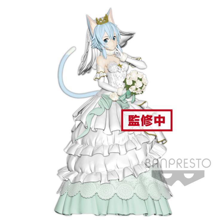 BANPRESTO SAO Sword Art Online figure Sinon Wedding dress Ver