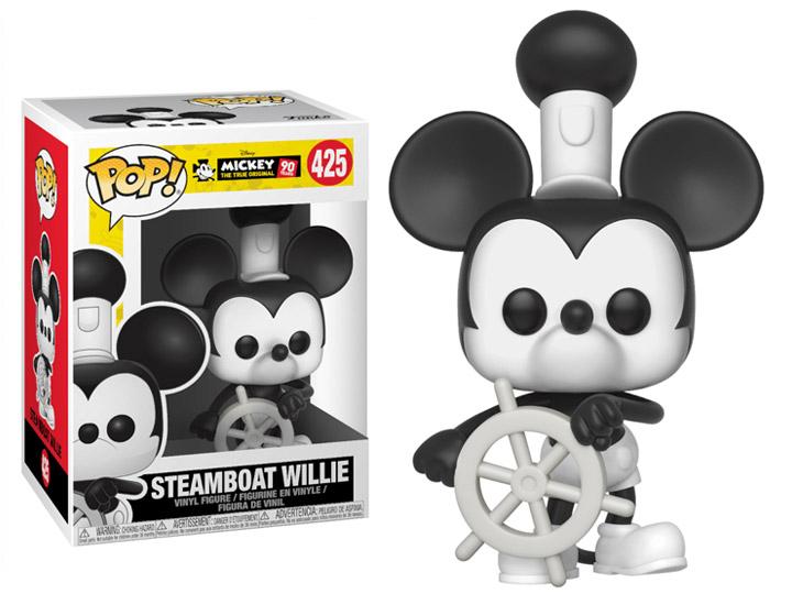 Steamboat Willie New Toy DISNEY: Mickey/'s 90th FUNKO POP Vinyl Figure