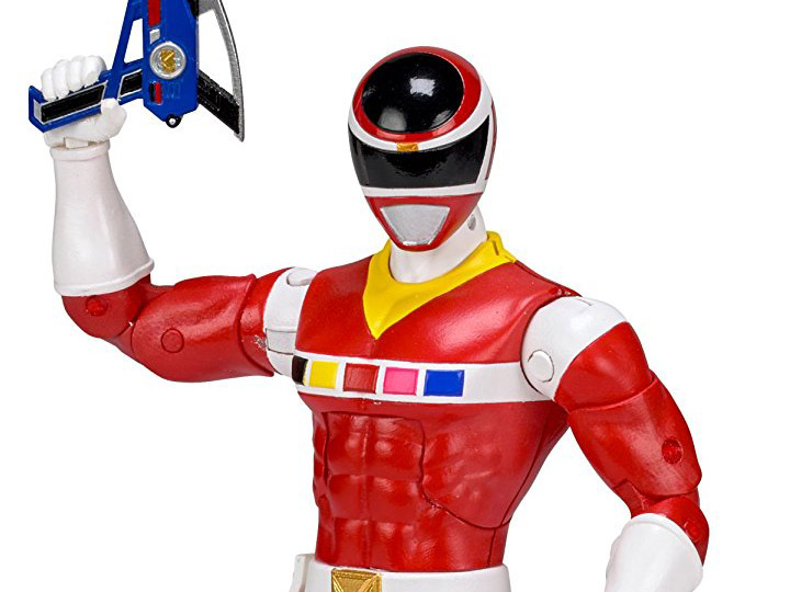 Power Rangers In Space Legacy Red Ranger Action Figure