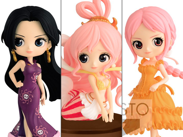 by Banpresto One Piece Q Posket Petit Vol Princess Shirahoshi 3 Figure Blue