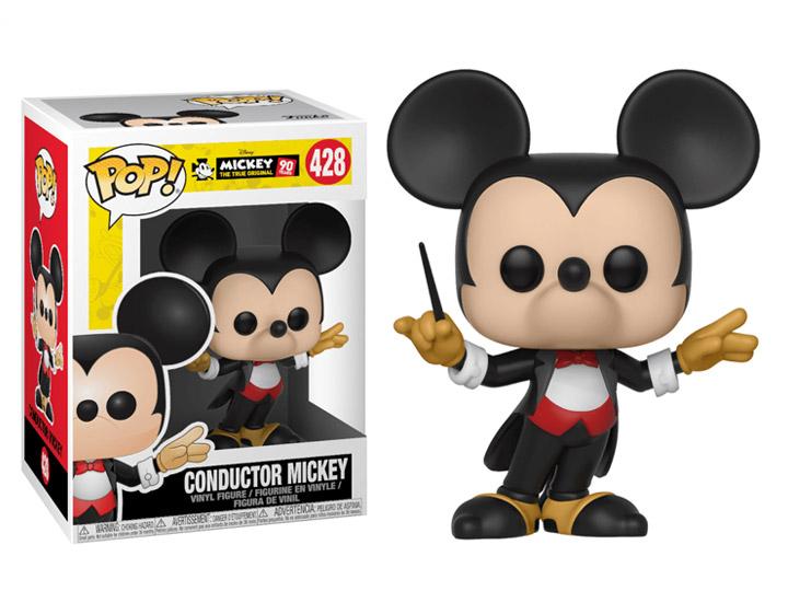 Funko Pop Disney Mickey/'s 90th CONDUCTOR MICKEY MOUSE Vinyl Figure NEW
