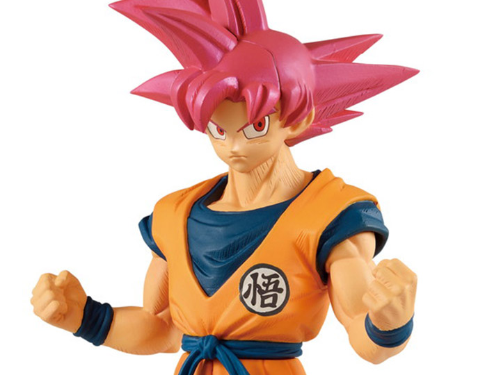 Banpresto Dragonball Super Movie Cyokoku Buyuden-Super Saiyan God Son Goku Figur