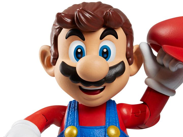 World Of Nintendo 4 Mario Super Mario Odyssey Figure
