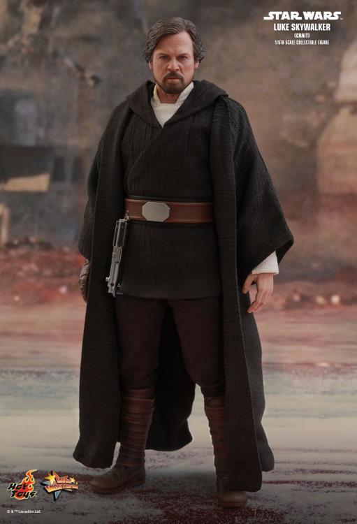 Star Wars The Last Jedi Mms507 Luke Skywalker Crait 1 6 Scale Collectible Figure