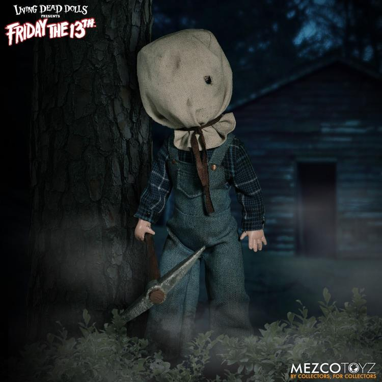 Living Dead Dolls Deluxe Friday The 13th Part II Jason Voorhees Mezco IN STOCK!