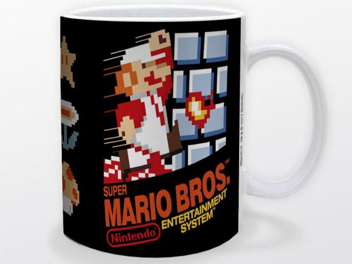 Super Mario Bros Nes Cover 11oz Mug