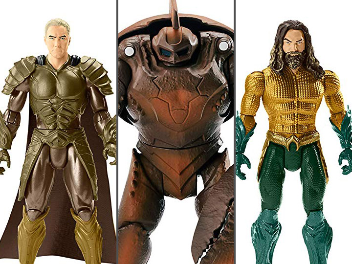 6 inch Aquaman Movie Super Hero Action Figure Toy W// Weapon King Armor NEW